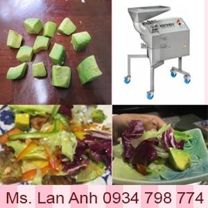 Máy Cắt Hạt Lựu Bơ Salad